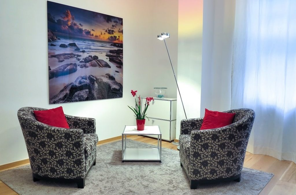 decorate your psychotherapy office space